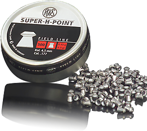 RWS Diabolo Super H Point (4,5mm / 500ks)