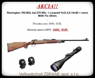 Akciový set Remington 700