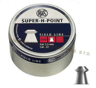 RWS diabolo Super H Point (5,5mm / 500ks)